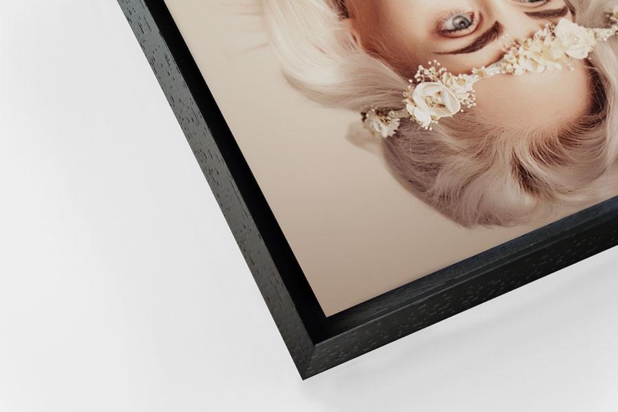 Detail of Black Tray Frame