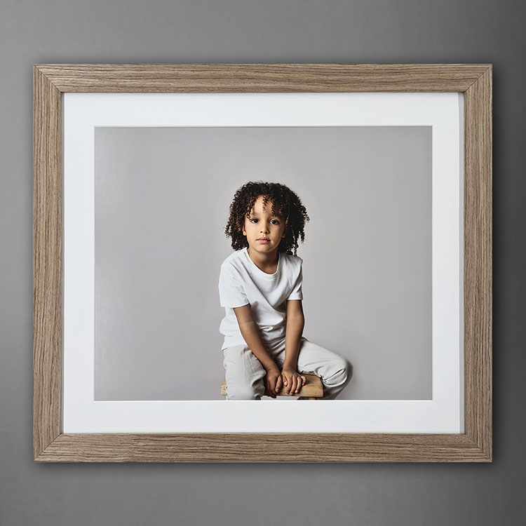 Scandi-Frame_Light-Walnut_Scandi_Scandinavian-Frame_Nordic-decor_boho_Wooden-frame