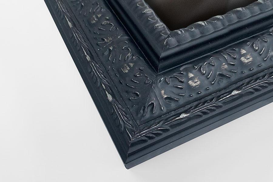 Ornate Black/Silver